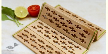 Purnak ✼ Udayagiri Wooden Table Mat { Set of 2 }✼{ 22 }