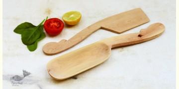 Purnak ✼ Udayagiri Wooden Cutlery - Set of Tow ✼ { 11 }