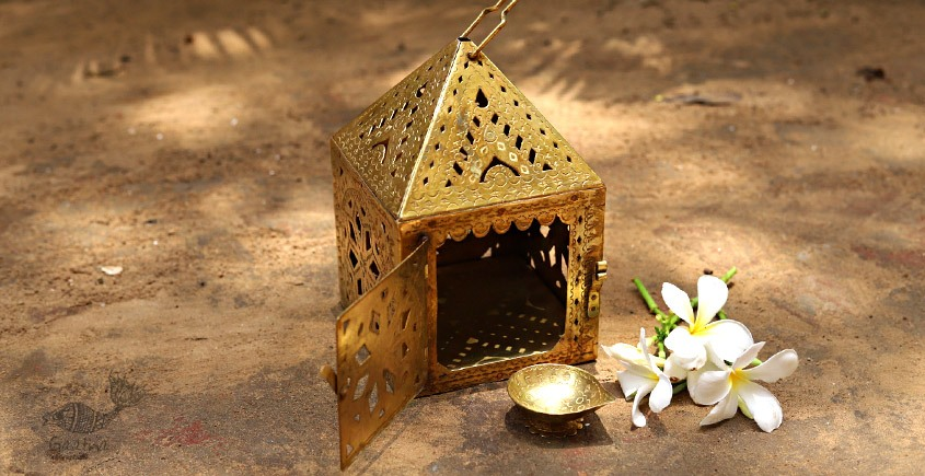 buy online brass Lamp (diya ) Holder