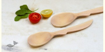 Purnak ✼ Udayagiri Wooden Cutlery ✼ ( Set of Two ) { 25 }
