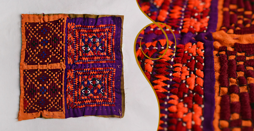 Old Pieces of Sindh ❂ Hand Embroidered Antique Pieces ❂ 51