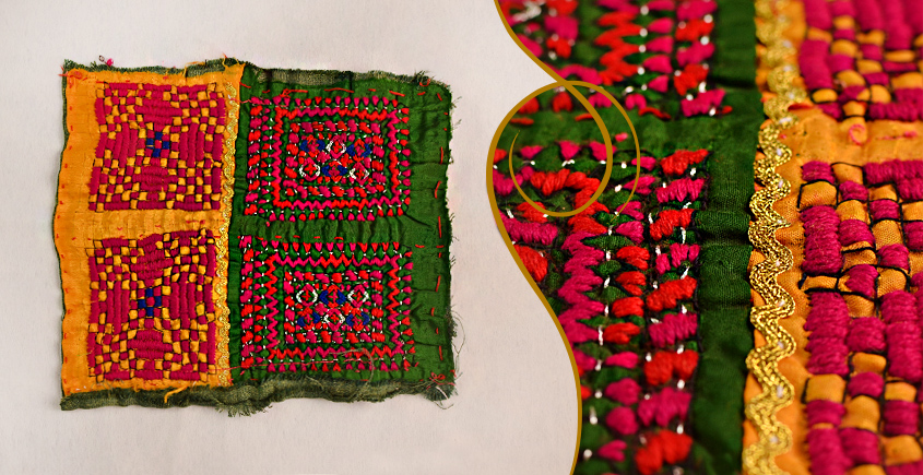 Old Pieces of Sindh ❂ Hand Embroidered Antique Pieces ❂ 57