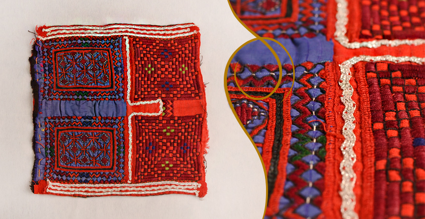 Old Pieces of Sindh ❂ Hand Embroidered Antique Pieces ❂ 58