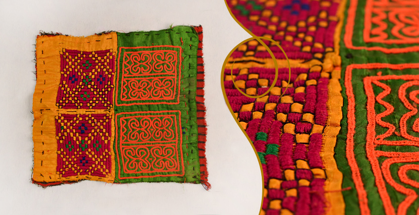 Old Pieces of Sindh ❂ Hand Embroidered Antique Pieces ❂ 59