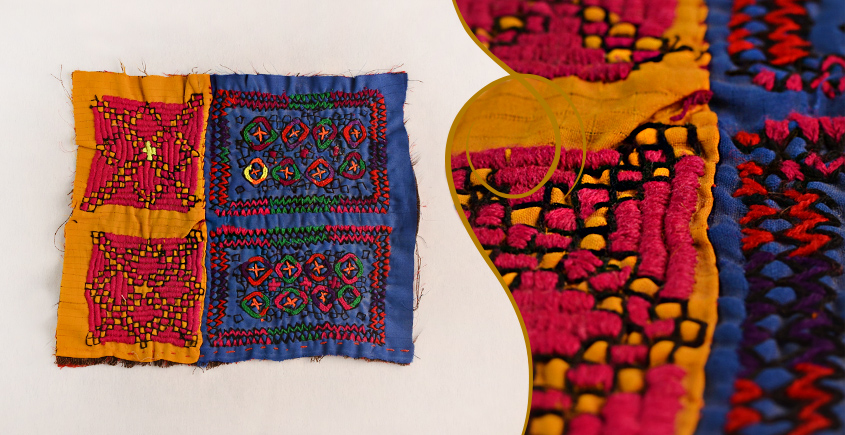 Old Pieces of Sindh ❂ Hand Embroidered Antique Pieces ❂ 62