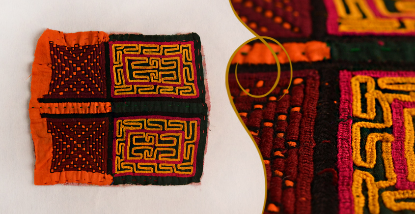 Old Pieces of Sindh ❂ Hand Embroidered Antique Pieces ❂ 68