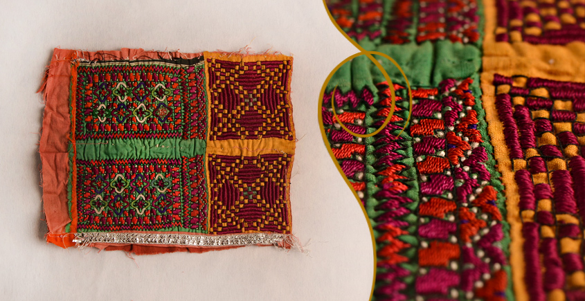 Old Pieces of Sindh ❂ Hand Embroidered Antique Pieces ❂ 73