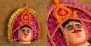 मुखौटा : Chhau Mask : G