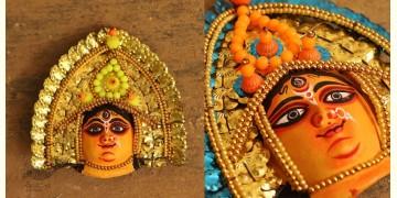 मुखौटा : Chhau Mask : F