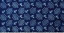 Indigo Dabu Print fabric ~ 17 (per meter)
