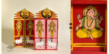 कथनिक ☀ Kaavad a Wooden Shrine - Gajaanand { Single piece } ~ 6