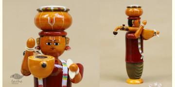 Etikoppaka ♡ Wooden Toy ♡ Hari Das (  20x12x8 cm )