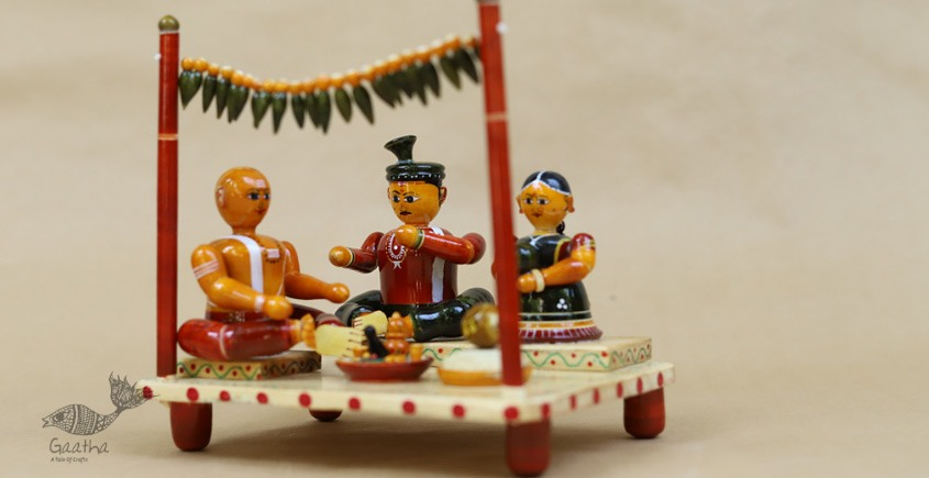 Space Accessories - Table Top - Wooden Toy - Hanuman