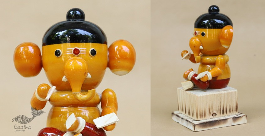 Space Accessories - Table Top - Wooden Toy - Kid Ganesha