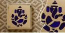 आइना महल ♣ Mirror Inlay ♣ Wall Hangings ♣ Ganesha . B