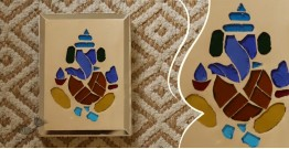 आइना महल ♣ Mirror Inlay ♣ Wall Hangings ♣ Ganesha . A