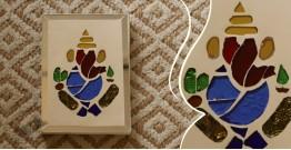 आइना महल ♣ Mirror Inlay ♣ Wall Hangings ♣ Ganesha . D