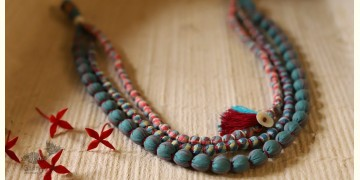 Zoe ♥ Fabric Necklace ♥ { 5 }