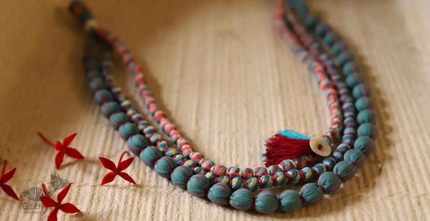 Zoe ♥ Fabric Necklace ♥ { 5 }