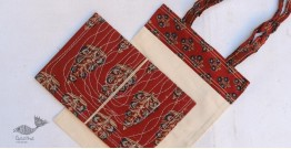 Getting carried away ~ Handmade Cotton Bag + Pothi Folder ~ 3