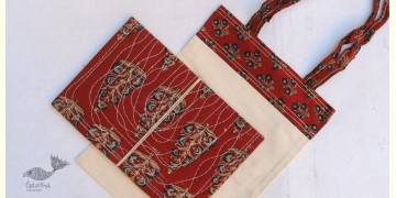 Getting carried away ~ Handmade Cotton Bag + Pothi Folder ~ 3