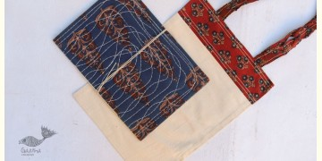 Getting carried away ~ Handmade Cotton bag + Pothi Folder ~ 4