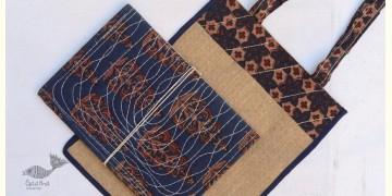 Getting carried away ~ Handmade Jute bag + Pothi Folder ~ 5