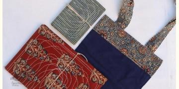 Getting carried away ~ Handmade Cotton Bag + Pothi Folder + Diary ~ 6