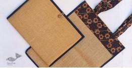Getting carried away ~ Handmade Jute bag + Jute File Folder ~ 7