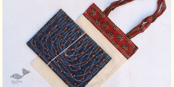 Getting carried away ~ Handmade Cotton Bag + Pothi Folder ~ 8