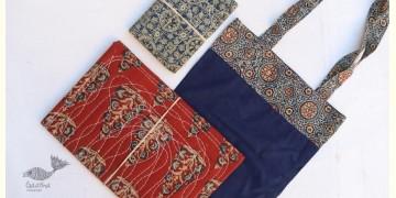 Getting carried away ~ Handmade Cotton Bag + Pothi Folder + Diary ~ 12
