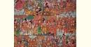 buy online leather painting - Prahallada Painting