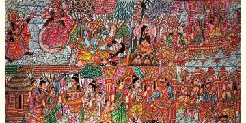 Tholu Bommalata ✪ Leather Painting ✪ Prahallada Painting