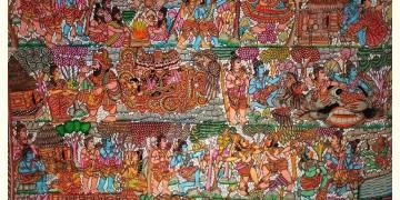 Tholu Bommalata ✪ Leather Painting ✪ Sri Krishna Painting