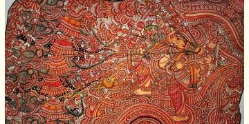 Tholu Bommalata ✪ Leather Painting ✪ Vignesha Painting