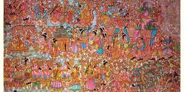 Tholu Bommalata ✪ Leather Painting ✪ Bhaktha Prahalada Painting