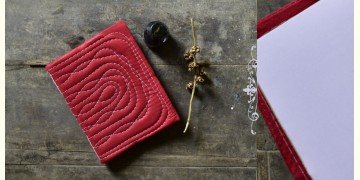 "Bahi khata Red Diary ☙ 32 { 9"" X 7"" }"