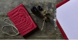 "Bahi khata Red diary ☙ 12 { 9"" X 6"" }"