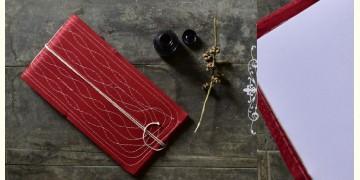 "Bahi khata Red diary ☙ 32 { 12"" X 6.5"" }"