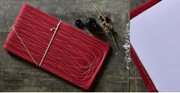 "Bahi khata Red diary ☙ 35 { 16"" X 8.7"" }"