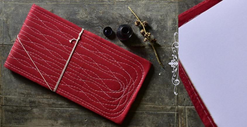 shop Bahi khata Red diary ☙ 35 { 16 X 8.7 in }