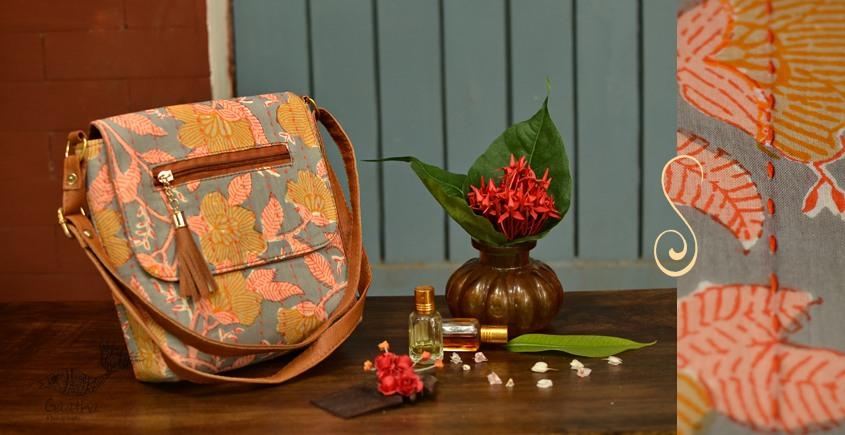 Blooming Dales ~ Block print ~ Purses & Handbags ~ { 4 }