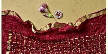Falak ❉ Bandhani Silk Dupatta ❉ 1