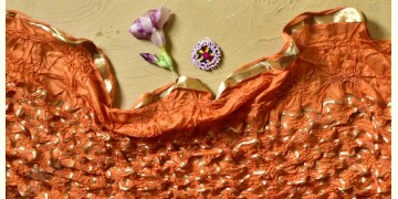 Falak ❉ Bandhani Silk Dupatta ❉ 6