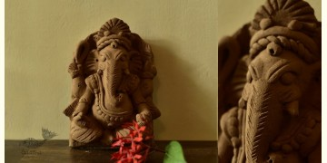 Molela ❉ Terracotta Plaques ❉ Ganpati