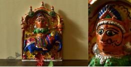 Molela ❉ Terracotta Plaques ❉ Tribal Goddess