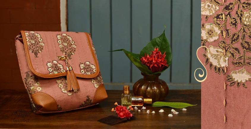 Blooming Dales ~ Block print ~ Purses & Handbags ~ { 7 }