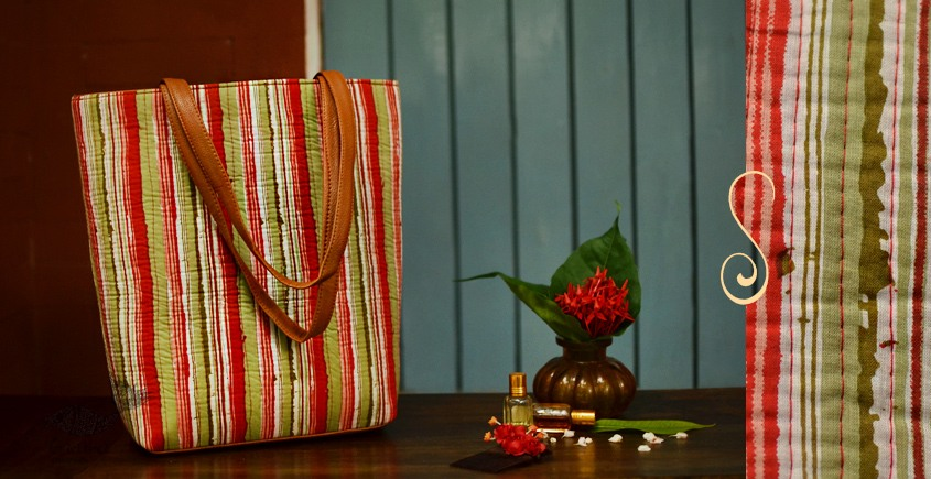 Blooming Dales ~ Block print ~ Purses & Handbags ~ { 9 }