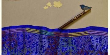 Swara . स्वरा ✽ Kantha Banglore Silk Stole ✽ 16