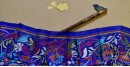 Kantha Banglore Silk Stole 17
